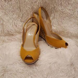 Kors by Michael Kors Yellow Sandals